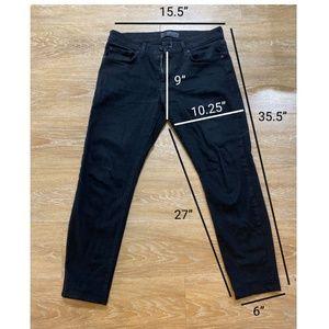 J Brand Tyler Black Slim Fit Jean